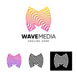 Vector logo template for your company Royalty Free Stock Photos