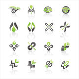 Vector logo templates Stock Photo