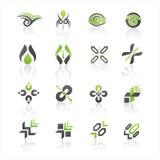 Vector logo templates Stock Photo