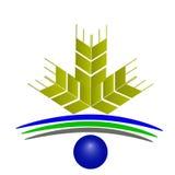 Vector Logo Wheat Stock Photography