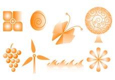 Vector logos Royalty Free Stock Image