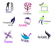Vector logos high quality Stock Photo