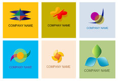 Vector logos Royalty Free Stock Image