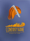 Vector logos. For multi industry use royalty free illustration