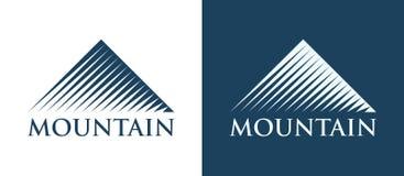 Vector Logotype of Mountains stock illustration