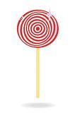 Vector lollipop candy Stock Photography