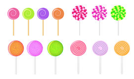 Vector lollipops Royalty Free Stock Photography
