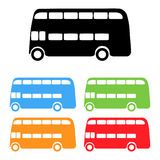 Vector london bus Stock Image
