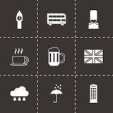 Vector london icon set Stock Photography