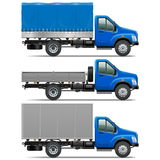 Vector Lorry Icons Set 1 Royalty Free Stock Photo
