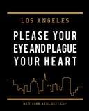 Vector Los Ángeles typograhy Imagen de archivo libre de regalías