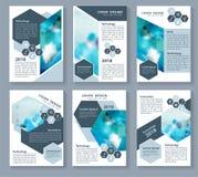 Vector los elementos azules para el infographics en un fondo blanco ilustración del vector