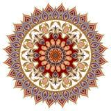 Vector los elementos del diseño en un estilo oriental tradicional Fotos de archivo