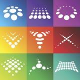 Vector los símbolos abstractos Foto de archivo