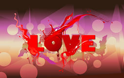 Vector love Stock Photo