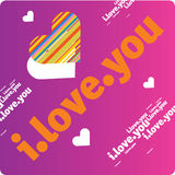 Vector love design Royalty Free Stock Image