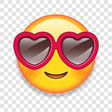 Vector Love Emoticon Illustration Stock Images