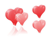 Vector Love Illustration Royalty Free Stock Photo