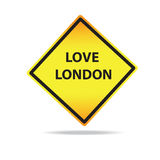 Vector Love London Sign Stock Image