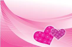 Vector Love postcard. stock photo