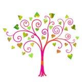 Vector love tree Stock Photo