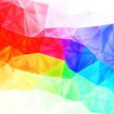 Vector  low poly art, background Royalty Free Stock Images