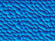 Vector low poly background. Vector low poly blue background Stock Photos