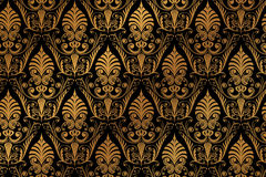 Vector luxury baroque pattern Royalty Free Stock Image