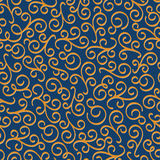 Vector luxury eastern seamless floral pattern Royalty Free Stock Photos