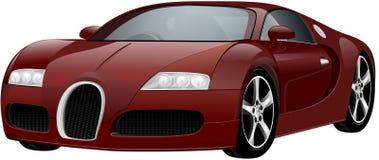 Vector luxury sports car Stock Photos