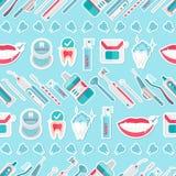 Vector médico del modelo de la higiene de los dientes libre illustration