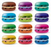 Vector macarons Royalty Free Stock Image