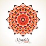 Vector madala, round ornament Royalty Free Stock Photography