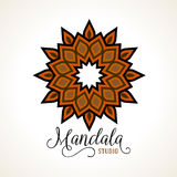Vector madala, round ornament Stock Images