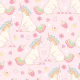 Vector magic background with stickers, pins, patches in cartoon style. Royalty Free Stock Image
