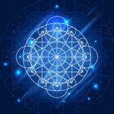 Vector Magic Geometry Sign Stock Image