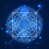 Vector Magic Geometry Sign Royalty Free Stock Images