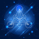 Vector Magic Geometry Sign Royalty Free Stock Photography