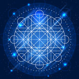 Vector Magic Geometry Sign Stock Images