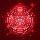 Vector Magic Geometry Sign Royalty Free Stock Photo