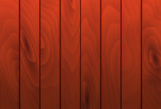 Vector mahogany wood grain texture planks. Wooden Royalty Free Stock Photos