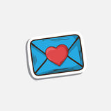 Vector mail icon Royalty Free Stock Photos