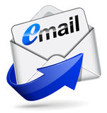 Vector mail icon Royalty Free Stock Images