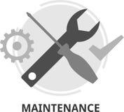Vector - maintenance. An illustration showing a maintenance concept Stock Photo