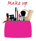 Vector make up Stock Image