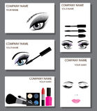 Vector make up Royalty Free Stock Images