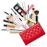 Vector Makeup Bag Stock Photos