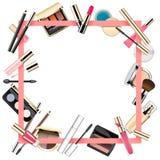Vector Makeup Frame Royalty Free Stock Photo