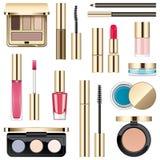Vector Makeup Icons Royalty Free Stock Photos