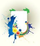 Vector malplaatje van een Milieubescherming Stock Afbeelding